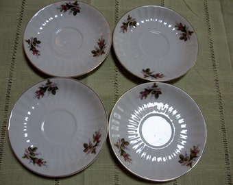 4 Lipper and Mann Creations Japan, Saucers - Item #1058