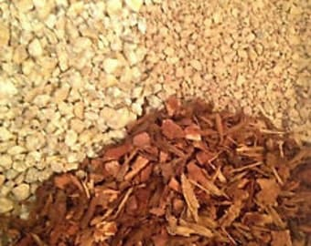 Gritty Mix  Turface / Pine bark fines / Gran-I-Grit - soil-less potting medium for bonsai, succulents, house plants etc
