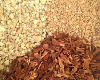 Gritty Mix Turface / Pine Bark Fines / Gran-I-Grit Bonsai Succulent soil-less mix