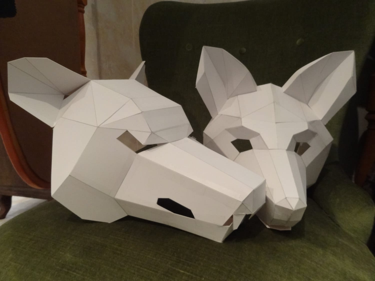 How To Make An Origami Fox Face