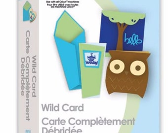 Cricut Cartridge WILD CARD – Gently Used - Linked