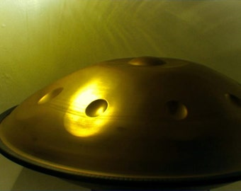Handpan with case, Nitrided