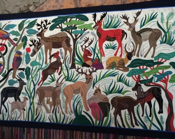 """Wall Hanging - """"The Jungle"""""""