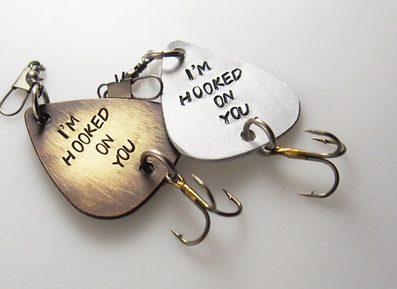 Personalized fishing lure fisherman gift fishing for Unique fishing gifts