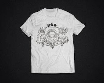 JV LATVIA II - white t-shirt