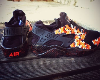 Nike Huarache customized