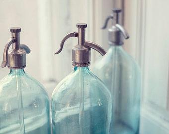 Vintage soviet seltzer bottle