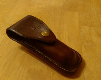 Leather Sheath for a Buck 110