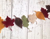 Large Autumn Leaf Garland | Fall Leaves | Thanksgiving | Halloween | Photoprop