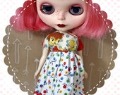 Chatty Kitty / One-of-a-Kind Doll Dress for Blythe