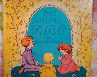 The Golden ABC for God's Little Ones - G. J. Neumann - H. Hentschel - 1957 - Vintage Religious Book