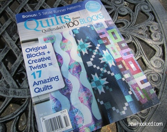 Personalized Copy of Quiltmaker's Quilts From 100 Blocks, Fall 2015