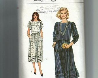 Vogue Misses' Top and Skirt Pattern 8586