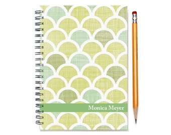12 month weekly planner, 2017 12 month planner calendar, customize with your name, custom gift idea for her, SKU: pli circles