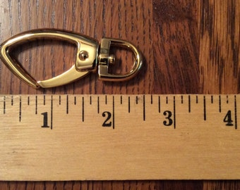 Extra Large Gold Swivel Purse Clips