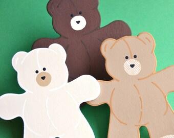 Tahlia Teddy Bear Quilt Clips Set/3