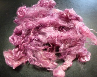 Pom Hand Dyed Primo Kid Mohair Locks One Ounce Doll Hair Spinning