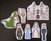 Royal Flannel Board Felt Stories Play Set