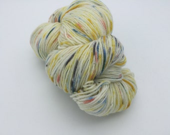 Sock Yarn, Raindrops, 100% Superwash Merino