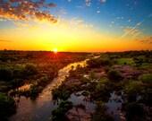 Llano Decor, Texas Photography, Llano Sunrise Photography, Texas Hill Country Photos, Texas Landscape Decor, Morning, Golden, Texas Decor