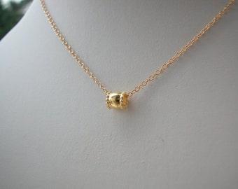 Delicate Venetian Murano Gold Fill Necklace
