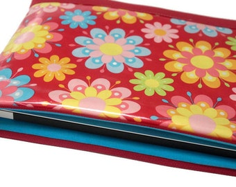 "Mother's Day Gift 11"" MacBook Air Case 13"" Laptop Cover, Water Resistant MacBook Air Sleeve, Yoga Pro 3 Laptop Sleeve - Red Floral Laminate"