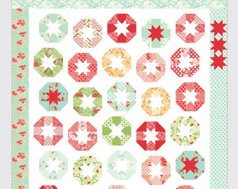 Lollies quilt pattern from Thimble Blossoms - layer cake friendly