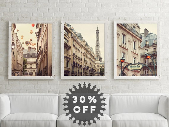 sale paris photography set paris prints by
