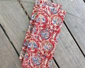 Cloth napkin, Set of 2, Super sized, handmade, 16 x 26, kalamkari, kitchen towel, tea towel