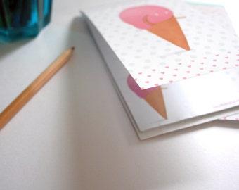 Cute ice cream cone - Shopping list