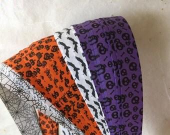 "3/4"" Weaving Star Paper~ Halloween Prints (50 strips)"