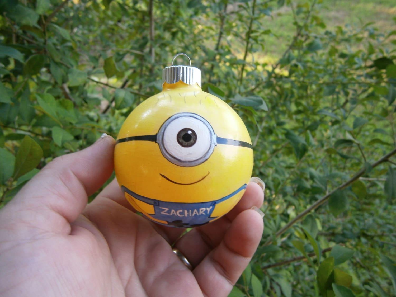 Minion ornaments | Etsy