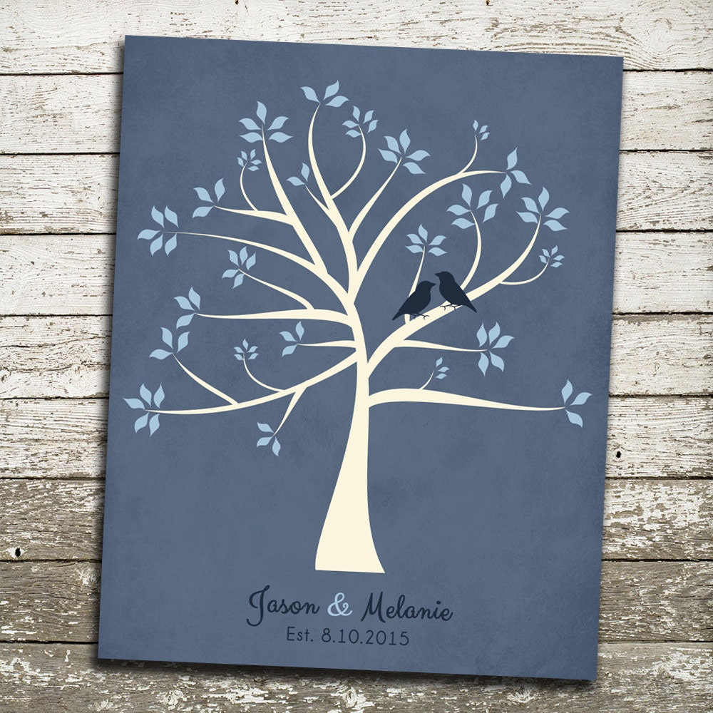 Personalised Wedding Gifts Groom : Personalized WEDDING Gift for Bride and Groom FAMILY Tree