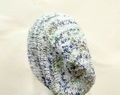 Slouchy beanie, knit beret, knitted hat,slouch hat, tam baggy beanie 5131