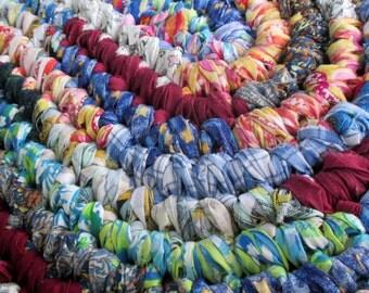 Bathroom Rugs - Boho Rug - Hippie Rug - Oval Rainbow Rug - Porch Rug - Oval Rag Rug - Bedroom Rug - Boho Decor - Hippie Decor - Oval Rug