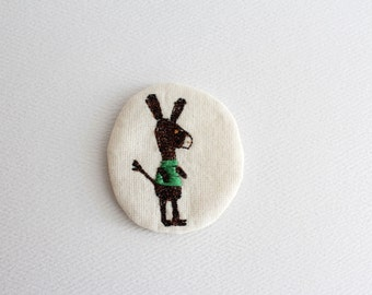 little animals pin - donkey