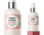 Sugar perfume, vanilla, hair mist, body spray, hair perfume, Sugar Island, teen, body mist, candy, vanilla, cotton candy, themefragrance