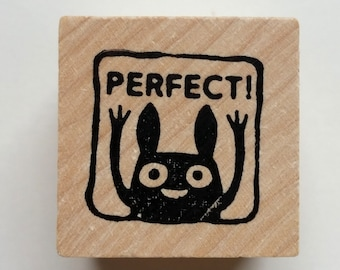 Perfect - Monster rubber stamps for teachers