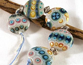 Lampwork  Art Beads by Jeanniesbeads #438