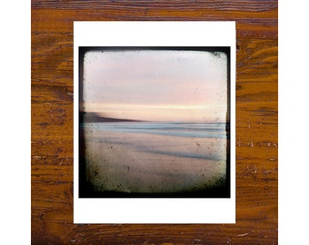 8x8 Print [JCP-095] - Manly beach, sydney, pink, calm, minimal, modern