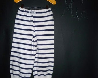UPcycled and REcycled - Children sweater Pants - Will fit a size 2T to 3T - by Boutique Mia and More - Ready To Ship