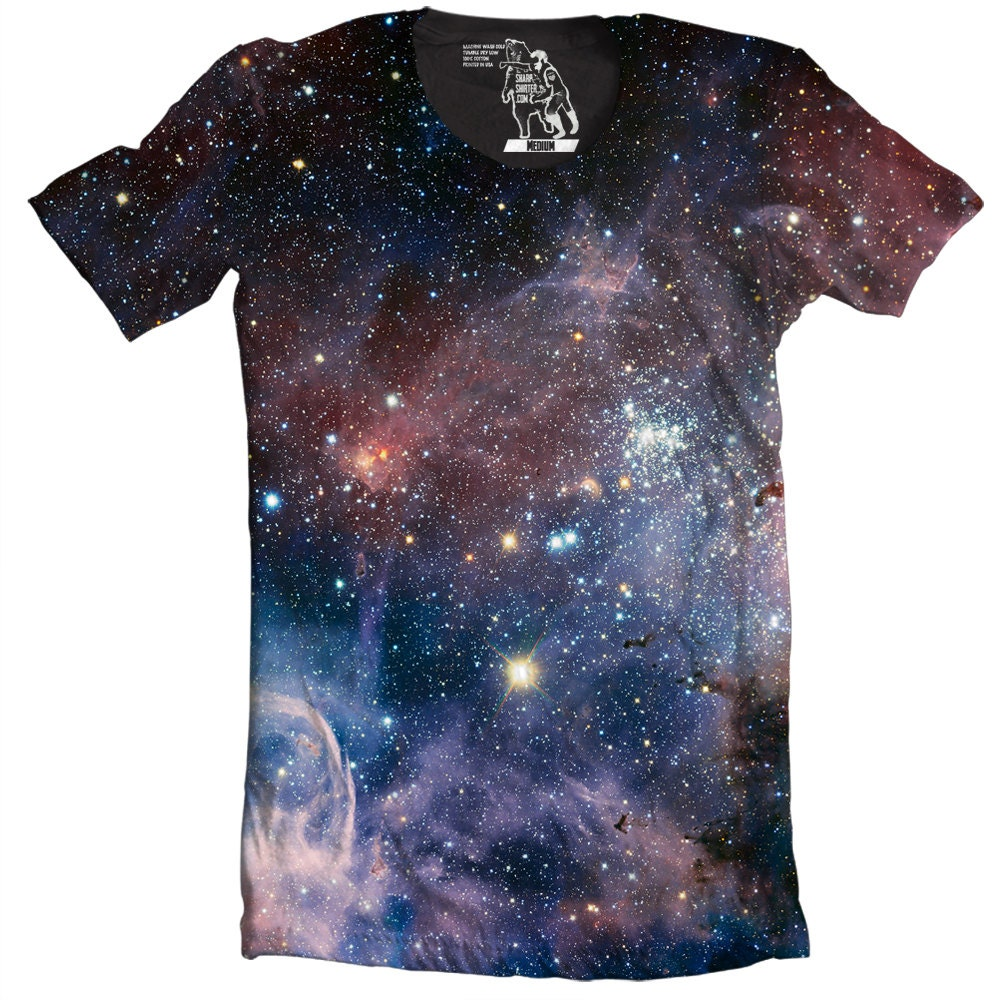 Mens galaxy t shirt carina nebula men 39 s tee cool outer for Galaxy white t shirts wholesale