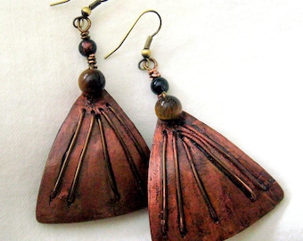 Gourd Pyramid shaped Earrings