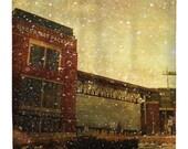 The Frozen Tundra, Shower Curtain, Green Bay Packers - Lambeau Field