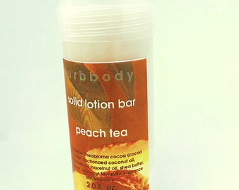Peach Tea Solid Lotion Bar