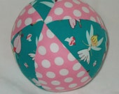 Fairyville Fabric Boutique Ball Rattle Toy