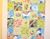 Flamingo Embroidered Quilt
