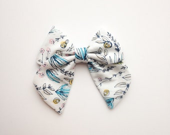 SAILOR BOW - Floral Tea Bow
