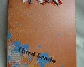 THIRD GRADE CLIPBOARD