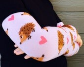 Leg and Arm Warmers for Boys and Girls - Hedgehog LOVE- Leggings for Infant, Baby, Toddler, Kid, Tween - Sweet Birthday or Shower Gift